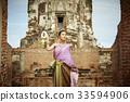 女人 女性 泰国人 33594906