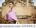花环 泰国人 女人 33594912