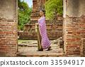 女人 女性 泰国人 33594917