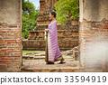 女人 女性 泰国人 33594919