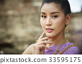 A picture of a Thai beautiful woman 33595175