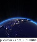 城市的燈光 空間 西亞 33600888