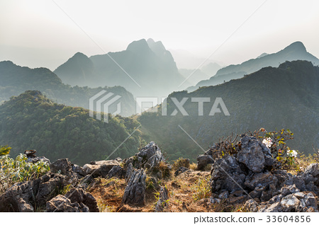 Landscape of Chiang Dao national park 33604856