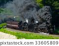 蒸汽機車 火車 列車 33605809