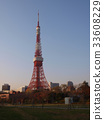 东京铁塔 东京塔 图画 33608229