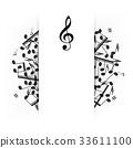 music musical vector 33611100