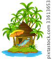 Cottage on private island 33613653