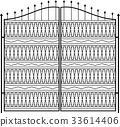 Wrought Iron Gate, Door, Grill, Railing Design 33614406
