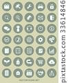 icon, icons, set 33614846
