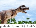 Tyrannosaurus is a genus of coelurosaurian theropod dinosaur. Th 33617022