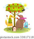 เฮดจ์ฮอก,จิ้งจอก,หมี 33617118