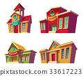 Set of vector illustrations cartoon of various 33617223