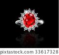 ring jewelry gem 33617328
