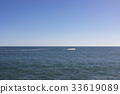 Horizon view over Atlantic Ocean 33619089