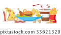 Tasty Fast Food Banner 33621329