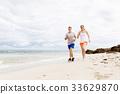 beach, couple, outside 33629870