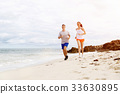 beach, couple, outside 33630895