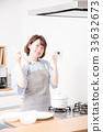 廚房女性 33632673