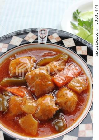 Meat dumplings 33633474
