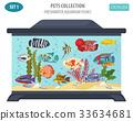 fish aquarium vector 33634681