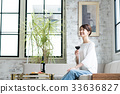 葡萄酒 紅酒 酒 33636827