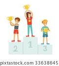 奖章 赢家 孩子 33638645