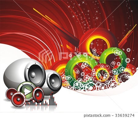 vector illustration for musical theme 33639274