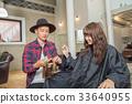理发师 美发师 美女艺术家 33640955