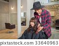 理发师 美发师 美女艺术家 33640963