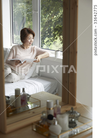 엄마,주부,중년의 한국인 33642775