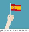 西班牙 旗幟 旗 33645813