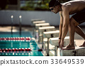 swimmer swimming competition pool 33649539