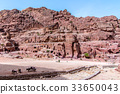 The Street of Facades in the ancient sity of Petra 33650043