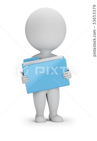 3d small people - folder 33653379