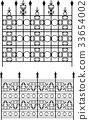 Wrought Iron Gate, Door, Grill, Railing Design 33654002