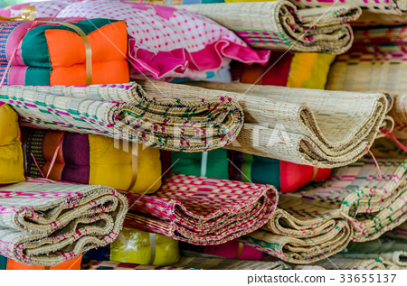 Vintage pillow and mat 33655137