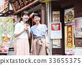 เพื่อนท่องเที่ยวหญิง Chinatown Yokohama Short Trip Walk Walk 33655375