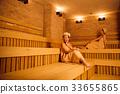 sauna, female, lady 33655865