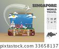 Singapore Landmark Global Travel And Journey. 33658137