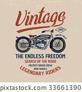 motorcycle, illustration, vector 33661390