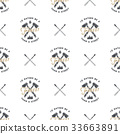 pattern forest vector 33663891