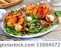 ham, nectarine, mozzarella 33664072