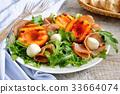 ham, nectarine, mozzarella 33664074