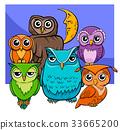 owl animal cartoon 33665200