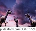 商人 恐龍 發光 33666224