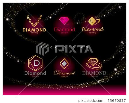 珠寶鑽石LOGO設計 33670837