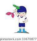 土豆種地 幼兒園兒童 小朋友 33670877