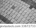 Abstract of ground brick texture 33672733
