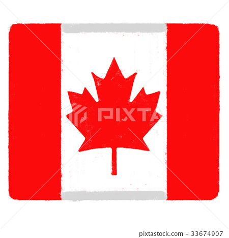加拿大国旗 图库插图 PIXTA图片