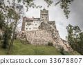 Bran Castle or Draculas castle in Romania 33678807
